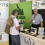Dave McVinnie, local ABQ DPE (and 10X Master CFI) volunteering at the SAFE booth.