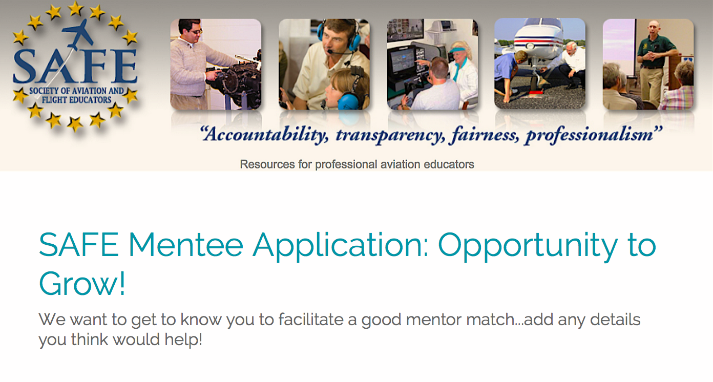 Click Here To Apply For a Mentee